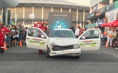 """""""Απεγκλωβισμός πολυτραυματία από τροχαίο ατύχημα"""" απο τους εθελοντές της ΕΠΙΛΕΚΤΗΣ ΟΜΑΔΑΣ ΔΙΑΣΩΣΗΣ"""